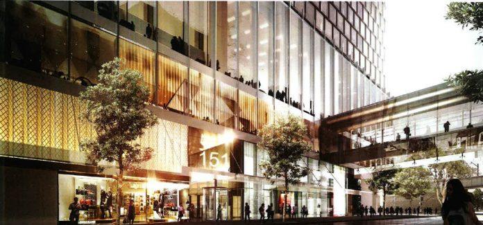 Parramatta westfield tower