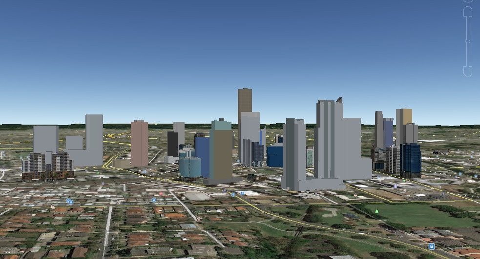 Macquarie Towers Skyline Sketchup