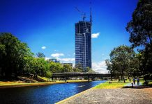 Altitude Towers by Meriton Parramatta Topped Out