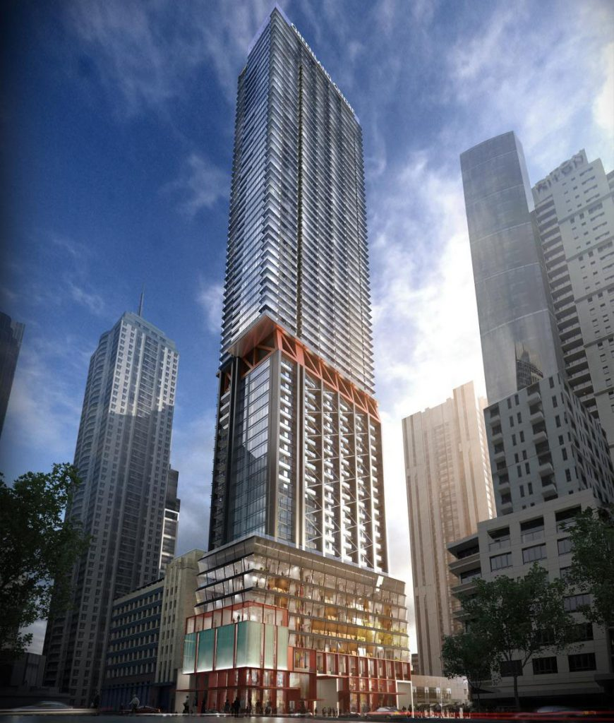 New Apartments Topped On On The L A: The Greenland Centre In The Sydney CBD Will Be 237m