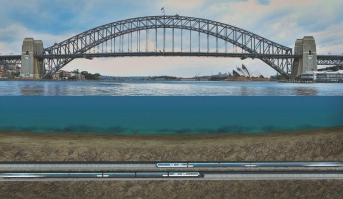 Sydney Metro Under the Harbour Bridge