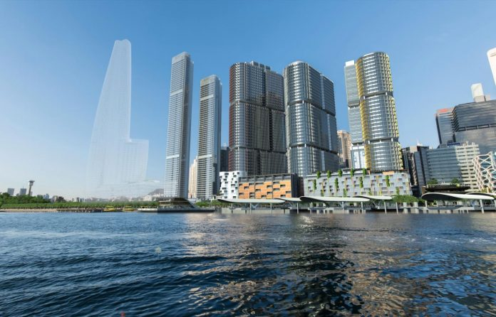 One Sydney Harbour Render Skyline