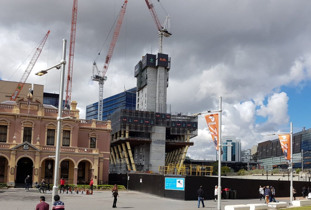 Parramatta Square 4 construction progress
