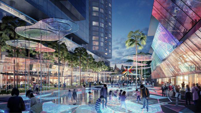 Parramatta Square Render