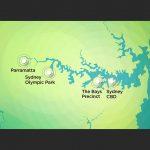 Sydney Metro West Map
