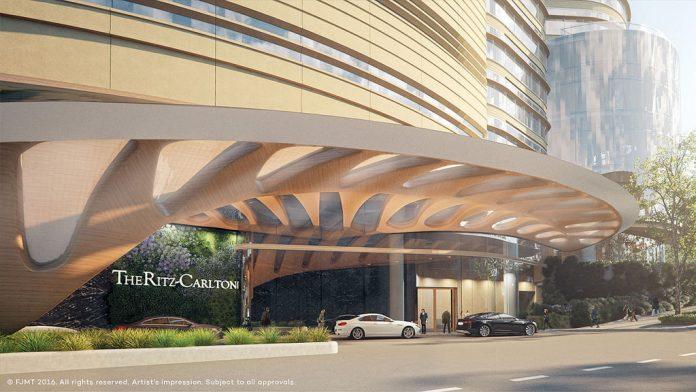 The Star Ritz-Carlton Hotel Podium