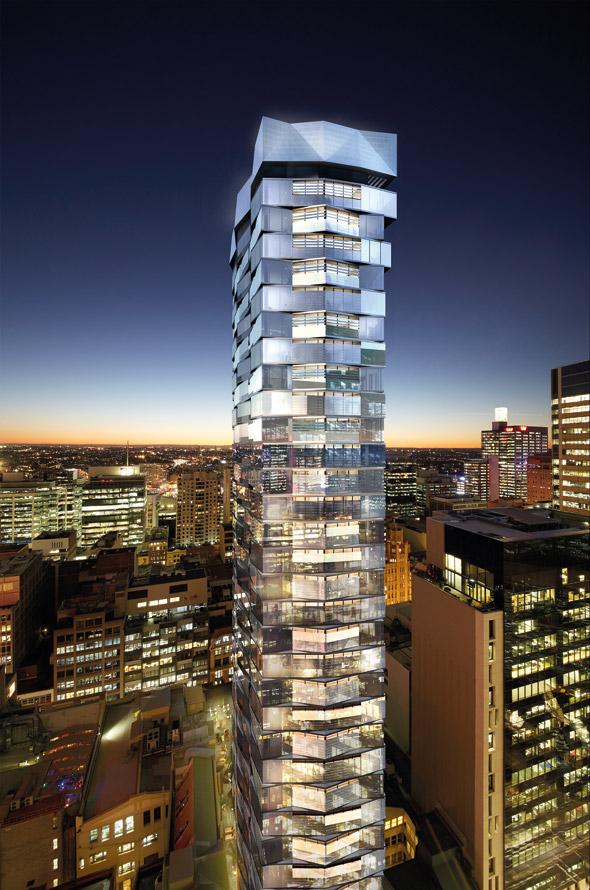 The York & George Tower.