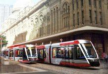Sydney CBD Light Rail QVB