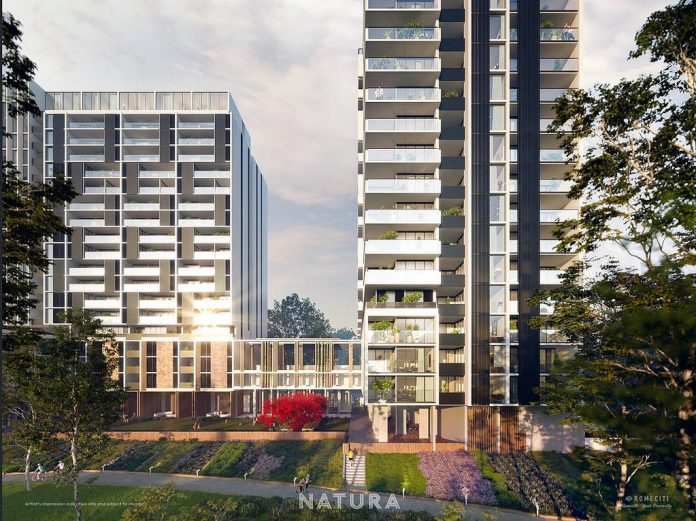 Natura Macquarie Park Exterior Render