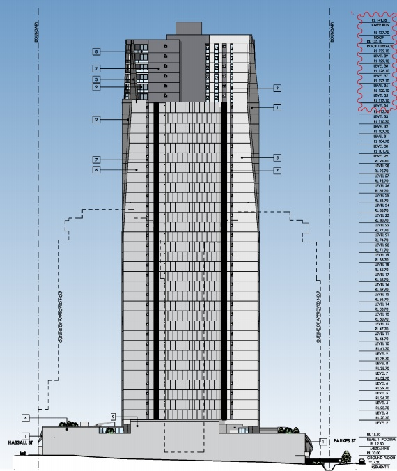 Skyrise Parramatta Floorplan