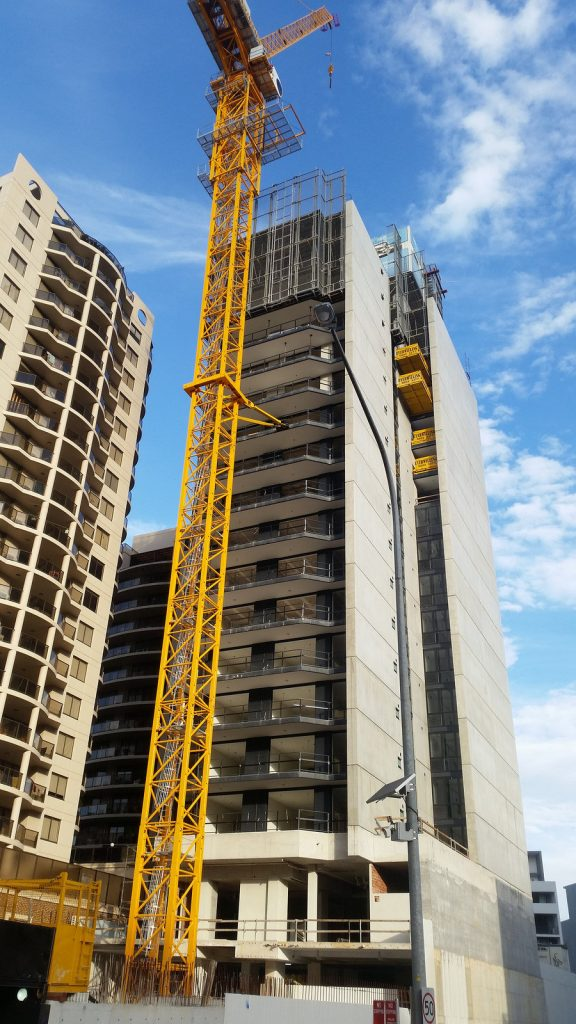 Skyrise Parramatta Under Construction