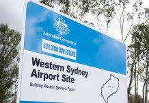 Western Sydney Airport Sign