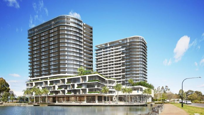 Esplanade Norwest Lake Render