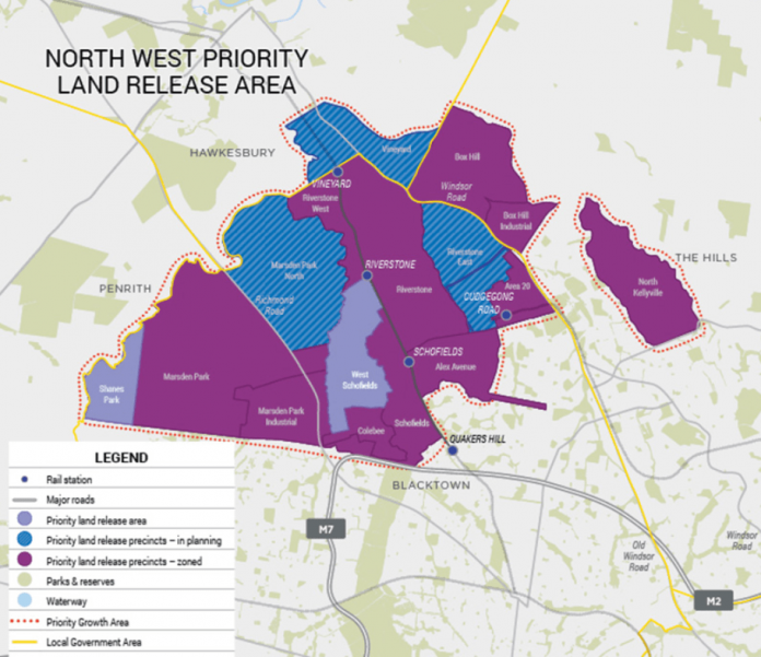 North West Priority Growth Area