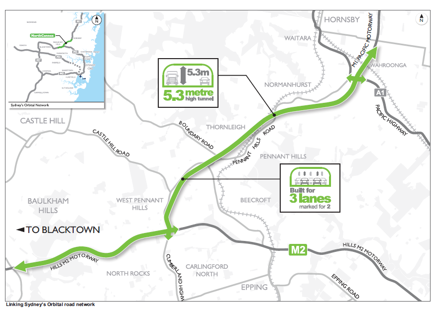 NorthConnex Map