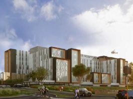 Potential Look of the new hospital at Randwick