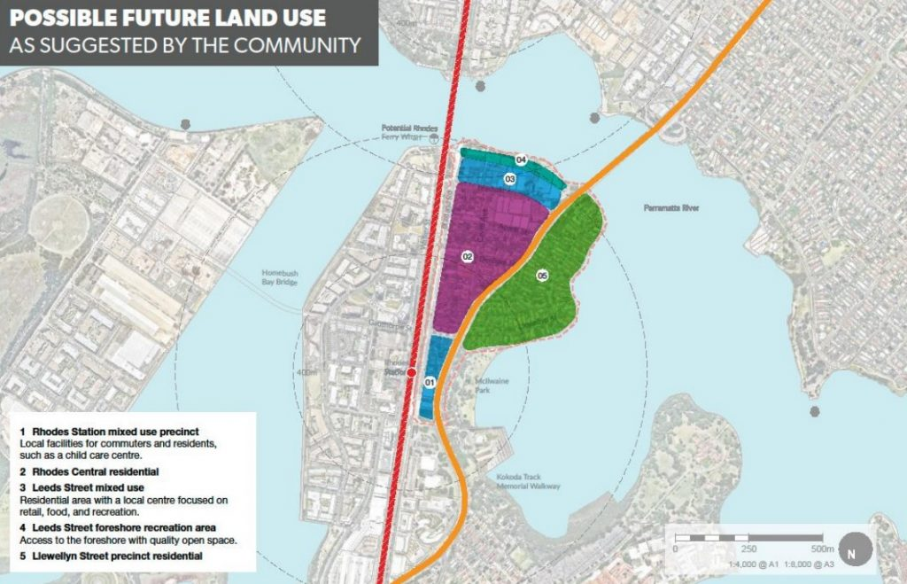 Rhodes East Potential Land Use