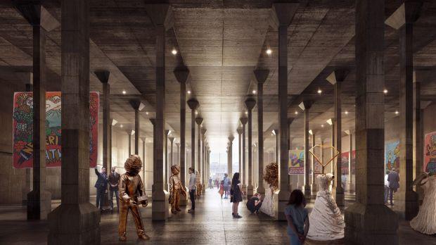 Sydney Modern Interior Render