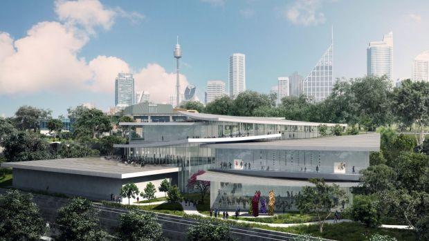Sydney Modern Render