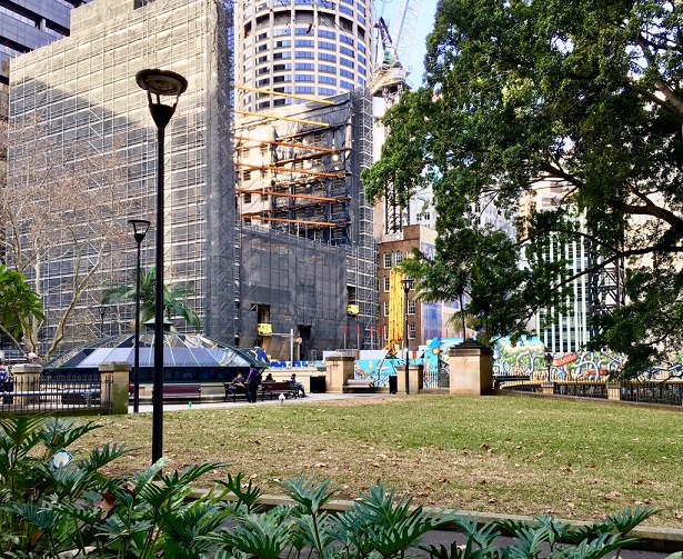 Wynyard Place Construction Progress July 2018
