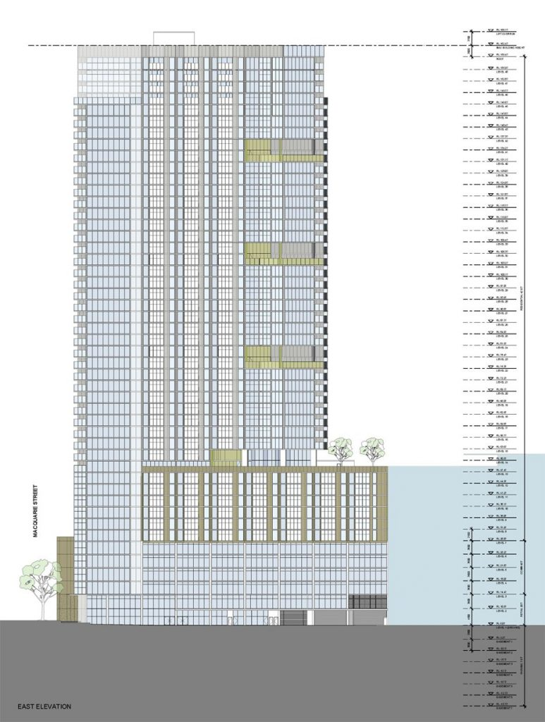 116 Macquarie St Parramatta Elevations