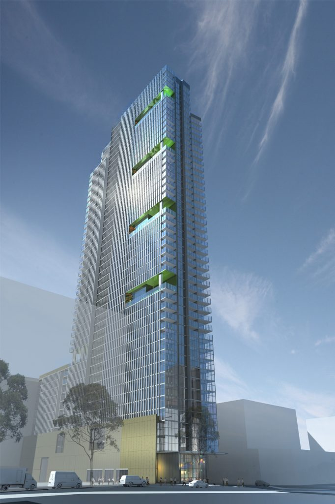 166 Macquarie St Exterior Render
