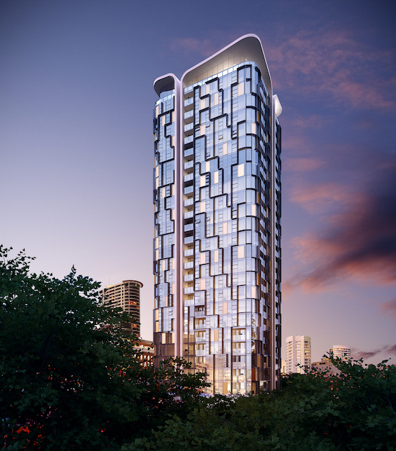 Embassy Tower External Render
