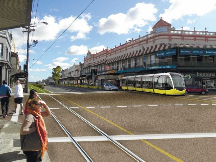 Parramatta Road Light Rail