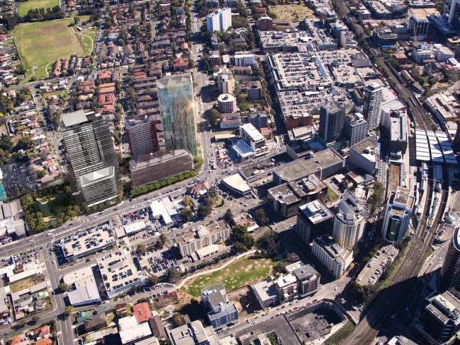 Auto Alley Aerial Parramatta