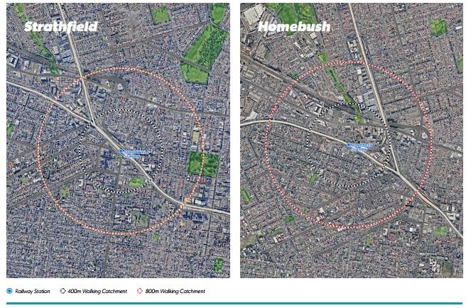 Precinct Location Strathfield & Homebush