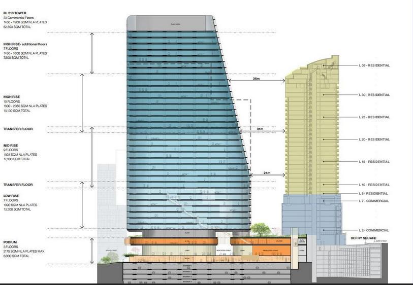 1 Denison Street Plans