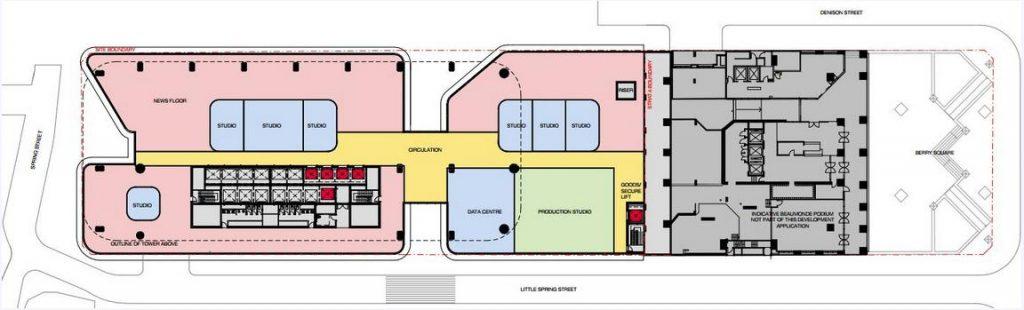 1 Denison Street First Floor Plans