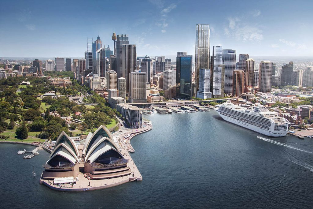 Circular Quay Tower Skyline Render