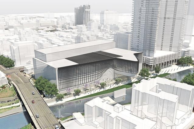 Powerhouse Museum Parramatta 3D Render