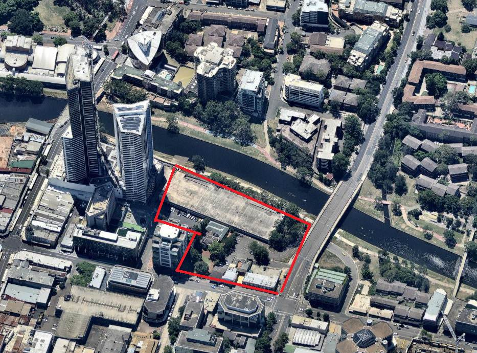 Powerhouse Museum Parramatta Site Location