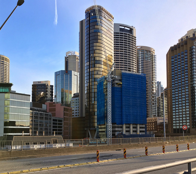 Circular Quay Tower Construction Progress