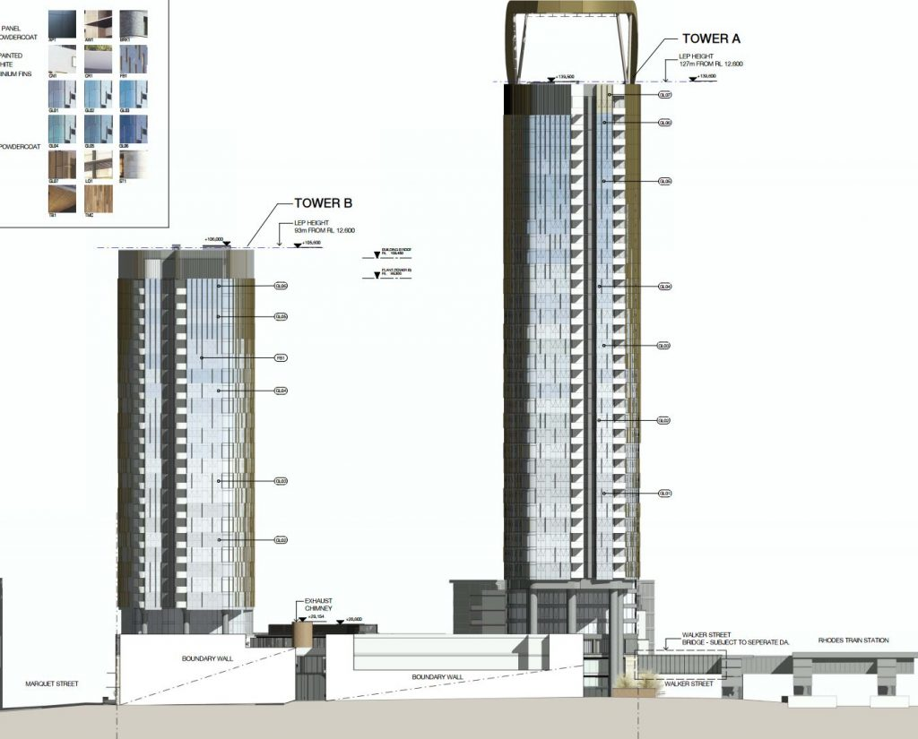 Rhodes Central Elevation Plans
