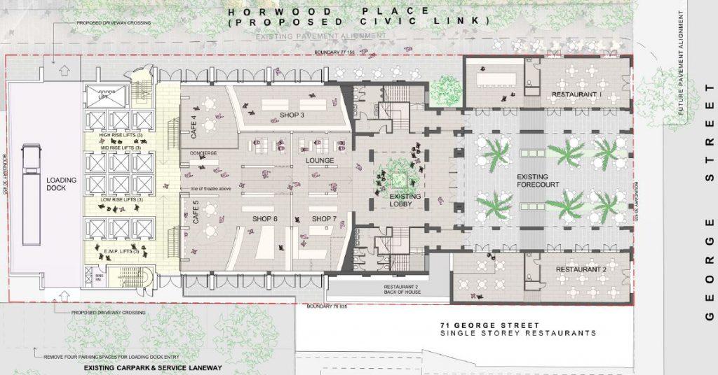 The Roxy Ground Floor Plan