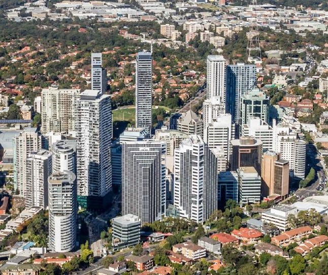 Image result for 2019 aerial photo chatswood