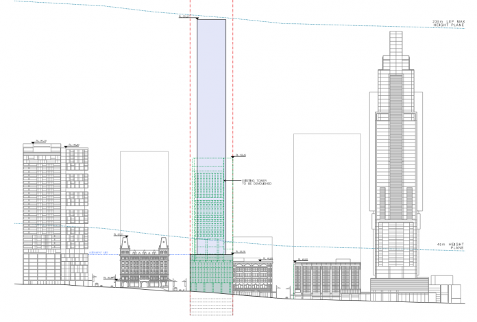 `133 Liverpool St Elevation Concept Plan