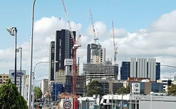 Parramatta CBD Construction