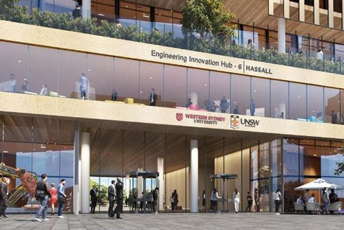 Parramatta Engineering Innovation Hub UNSW WSU