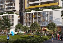 Street View of the Granville Place Development