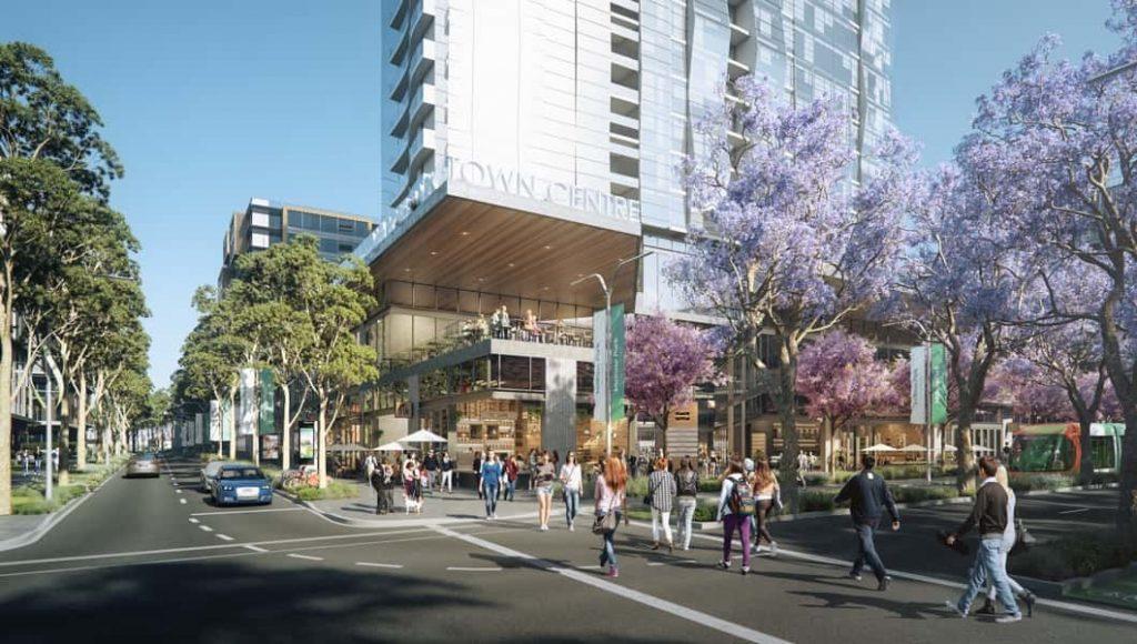 Melrose Park Town Centre future render