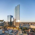 Parramatta Square 6&8 Skytower Render