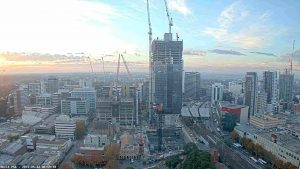 The Parramatta Skyline Under Construction