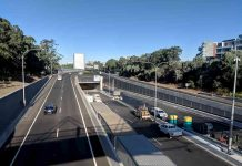 Westconnex M4 Tunnel Entrance